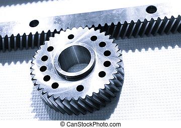 Metal alloy gear