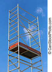 step-ladder against the sky