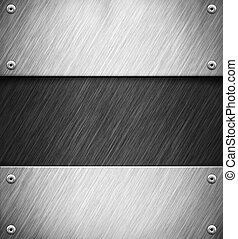 Metal background - Abstract background with metal panel