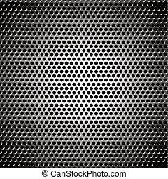 metal background circle