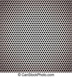 metal background circle light