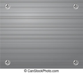 Metal background. Vector illustration.