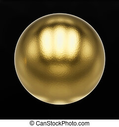 metal ball with clipping path