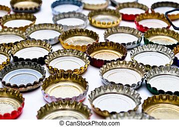 metal bottle caps