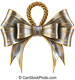 metal bow
