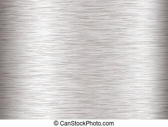 metal brushed steel - Silver steel background with metal...