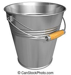 Metal bucket  - Metal bucket