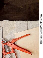Metal Building Contractors Caulking Gun Tool
