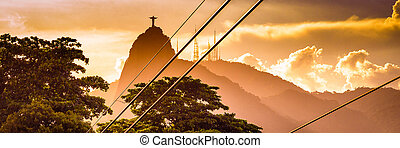 Christ The Redeemer - Metal cables with the Christ The...