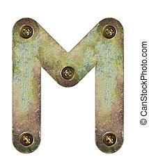 metal, carta