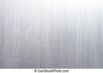 metal cepillado, placa