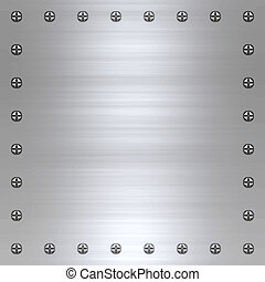 metal cepillado, plano de fondo