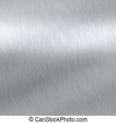 metal cepillado, textura