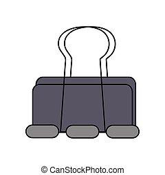 metal clip paper office equipment