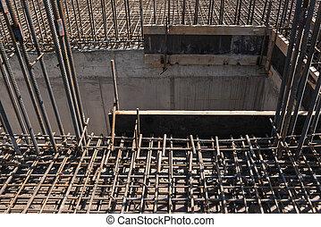 metal construction bars