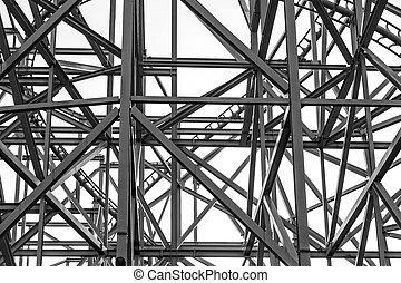 Metal construction frame