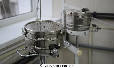Metal containers for sterile tools, instruments, medical...