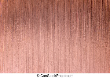 metal Copper brushed background