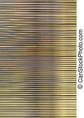 Metal corrugated sheet, texture,