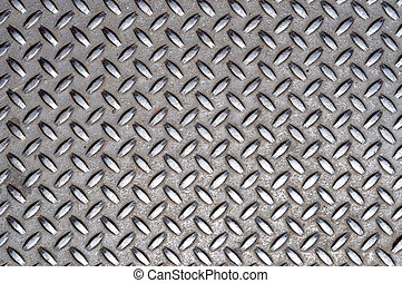 Metal Cross Grid Texture - A grunge background texture of...
