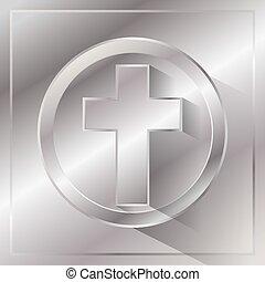 Metal Cross Illustration