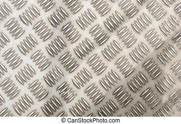 metal diamond plate ; abstract industrial background