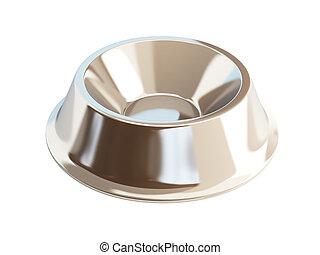 metal dog dish