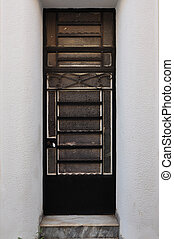 metal door frame pattern