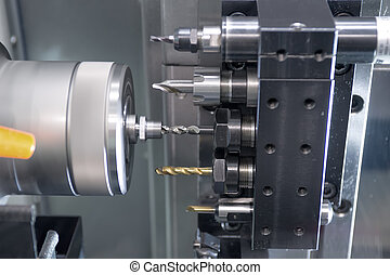 Metal drilling