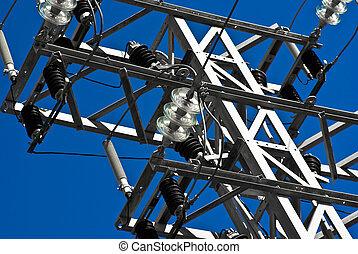 metal electric post