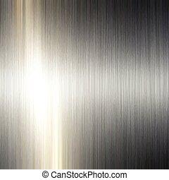 metal escovado, fundo, 1305
