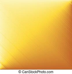 metal escovado, fundo, amarela