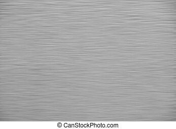 metal escovado, fundo, textura, prata