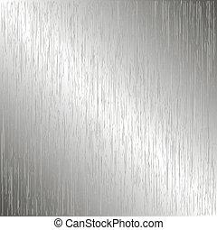 metal escovado, modelo, fundo