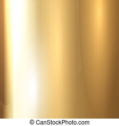 metal escovado, ouro