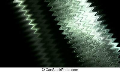 metal fiber optic wire wave & dazzling light.