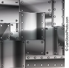 metal, folha