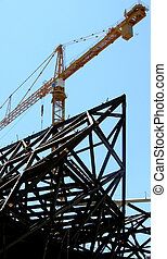 Metal framed buildin - How the building from metal frames is...