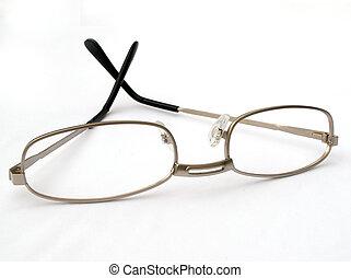 reading glasses - metal framed reading glasses