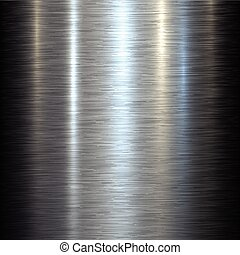 metal, fundo, aço