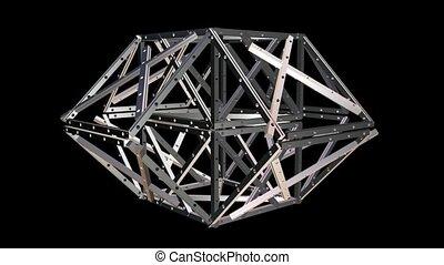 Metal Geometric Structure