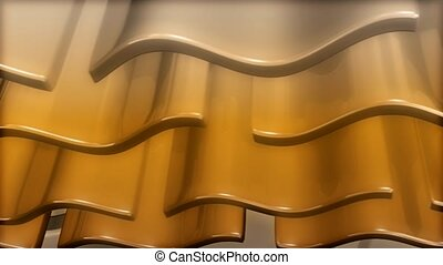 metal, gold, glide