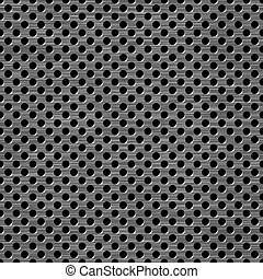 grate - metal grate background, seamless pattern