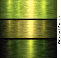 Metal green texture