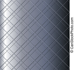 Metal grid background vector