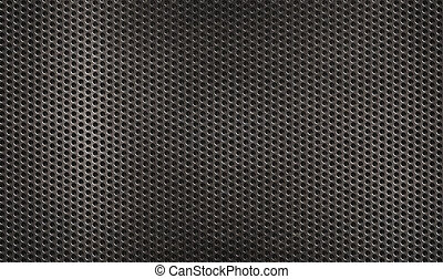metal grid grunge industrial  background