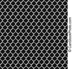 Metal grille