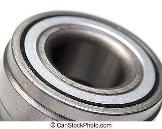 bearing - metal hub bearings on a white