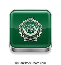Metal  icon of Arab League