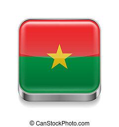 Metal  icon of Burkina Faso